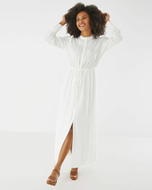 ΦΟΡΕΜΑ MEXX Maxi-Dress NL0607013W 110602 Off White