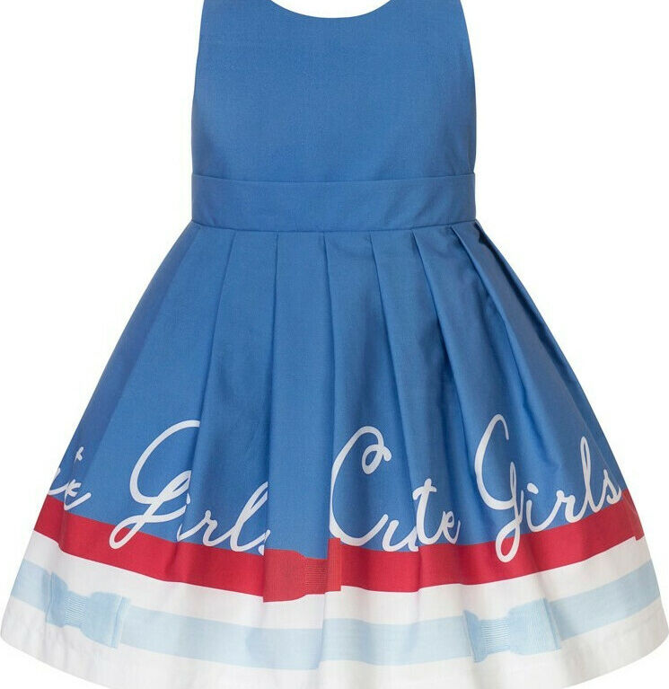 Παιδικό Φόρεμα BALLOON CHIC 211F0266 ΜΠΛΕ ΡΑΦ